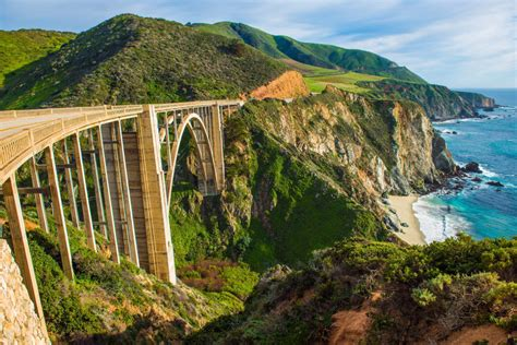 Bixby Creek Bridge, Big Sur, California jigsaw puzzle in
