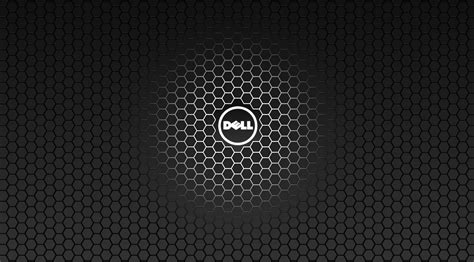 wallpaper 4k dell dell logo hexagonal carbon fiber pattern desktop wallpaper