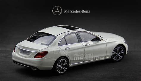 Diecast Mercedes C Class 1 18 norev mercedes 2014 all new c class w205 white dealer version ebay