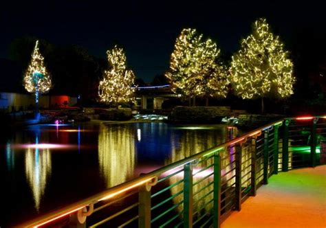 River Walk Christmas Lights Excite Visitors And Locals For San Antonio Lights 2014