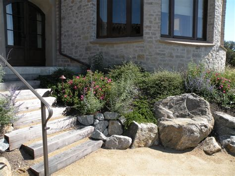 Landscape Ideas Rustic Rustic Landscape Ideas Landscape Rustic With River Stones