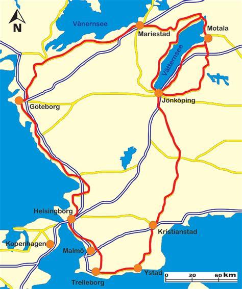 Bis Wann Motorradfahren by Motorradtour Die Midsommer Tour S 252 D Schweden Motorrad