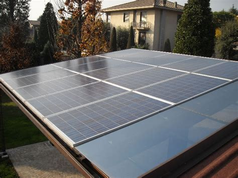 tettoia fotovoltaica pannelli fotovoltaici nuova ocim srl
