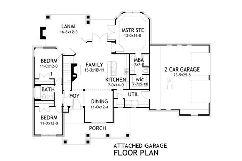2 bedroom house plans with attached garage merveille vivante small 2259 3 bedrooms and 2 5 baths the house designers