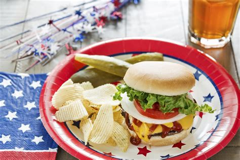 must menu items for a memorial day bbq chip s