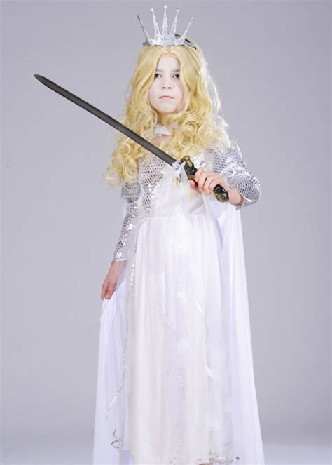 Kids The White Witch Narnia Style Costume