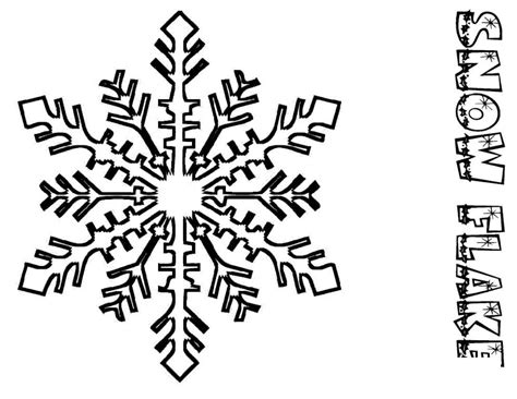 christmas snowflake coloring page snowflake coloring pages for kids coloring home