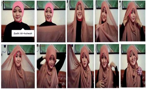 tutorial pashmina two tone tutorial hijab pashmina ceruti hijab