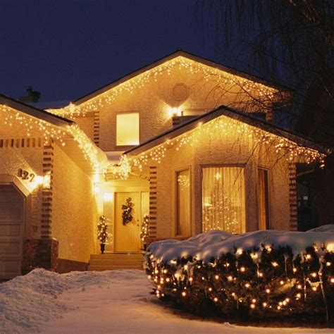 led icicle string lights with drop 4m 96 led indoor outdoor string lights 110 220v