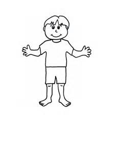 boy template paper dolls with clothes craft n home