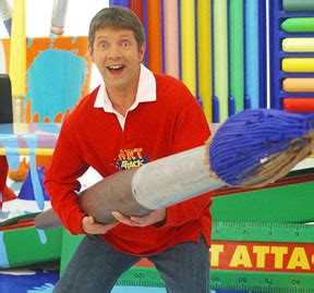 painting attack attack host neil buchanan is in a heavy metal band