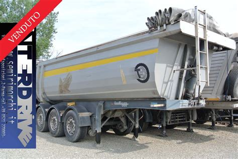 semirimorchio vasca ribaltabile usato semirimorchio ribaltabile vasca 26m cubi usata cargotrailers