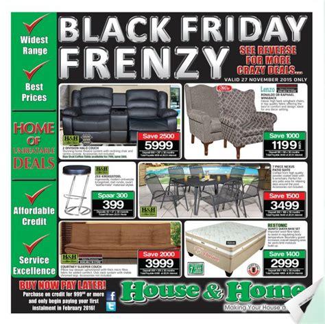 house and home black friday sale specials catalogue 27 nov
