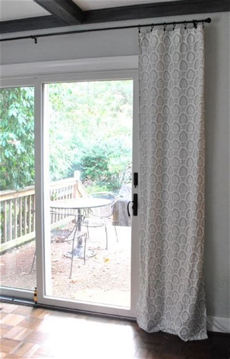 Curtains For Sliding Glass Doors In Kitchen 8 Best Images About Kitchen Sliding Glass Door On Shelves Tab Top Curtains And