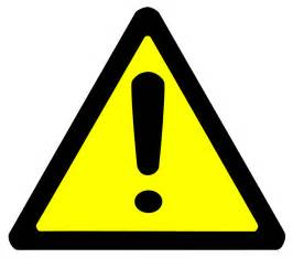 warning sign bold page frames full page signs bold