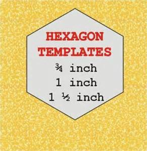 hexagon templates for quilting free paper by 3patch quilting pattern