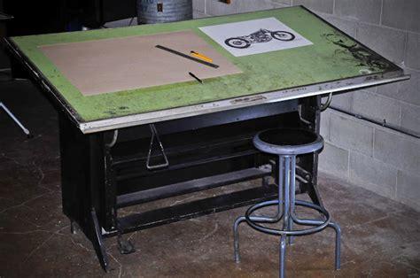 Warehouse Industrial Of La Pratt Whitney Inc Hamilton Drafting Table Vinyl