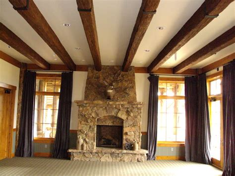 rustic ceiling beams faux wood beam quot rustic quot style