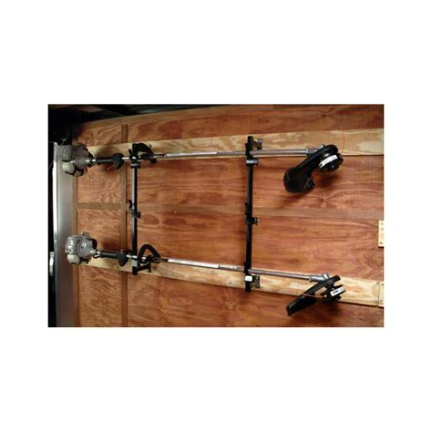 Enclosed Trailer Trimmer Racks by Buyers Lt12 3 Position Trimmer Rack With Snap In Design