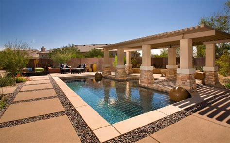 poolside pergola swimming pool bianchi design scottsdale az decor ideas pinterest arizona