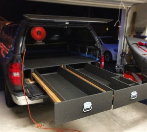 truck bed cer diy 25 best ideas about truck bed storage on pinterest