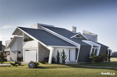 pitched roof house designs pitched roofline on house morphs into angled facade modern house designs