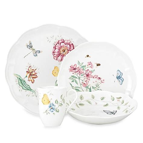 lenox bathroom collection lenox 174 butterfly meadow 174 dinnerware collection bed bath