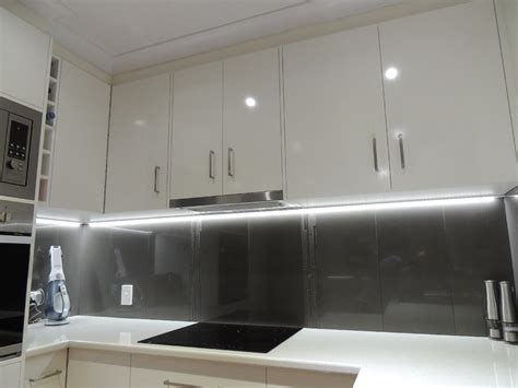 led lights for kitchen cabinets led strip lights in your kitchen simple lighting