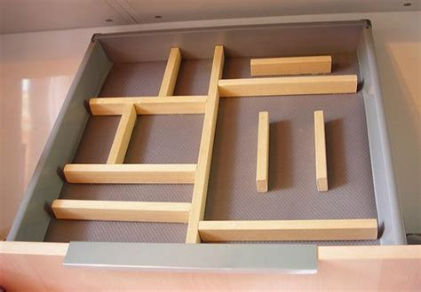 diy home organisation ideen diy adjustable kitchen drawer divider home organization