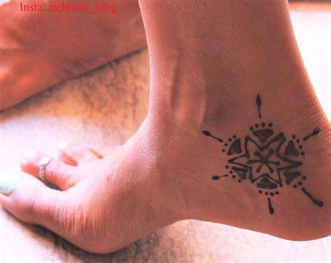 sunburst tattoo 15 simple henna designs to show in warm weather