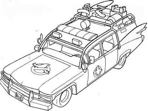 Ghostbusters Car Coloring Pages | stay puft ghostbusters coloring pages printable coloring pages