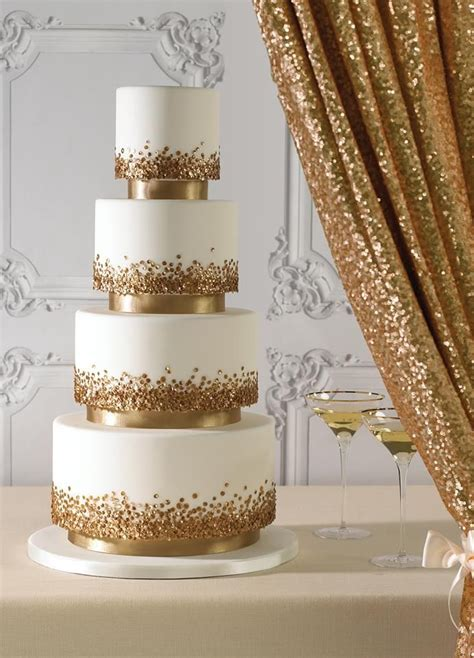 25 best ideas about gold wedding cakes on pinterest golden cake elegant wedding cake design