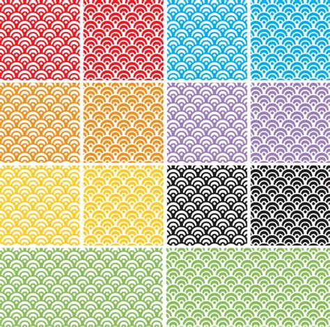 New Pattern Swatch Illustrator | dragon scales seamless pattern adobe illustrator swatches
