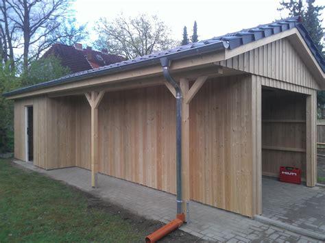Carport Und Terrassenüberdachung by Carports Holzbau Frese In Bremen Ihr Partner Im Holzbau