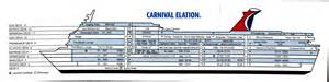 Carnival Cruise Ship Floor Plans by Deck Plan Card View1
