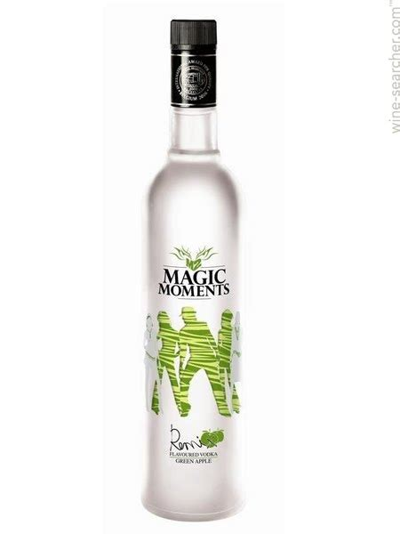 vodka magic moments remix green apple flavo prices stores tasting notes  market data