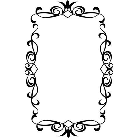 frame design clipart vintage frame png clipart best