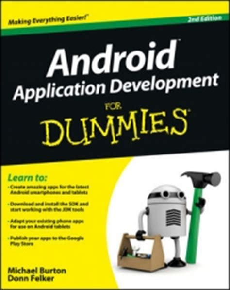 android development pdf android application development for dummies 2nd edition