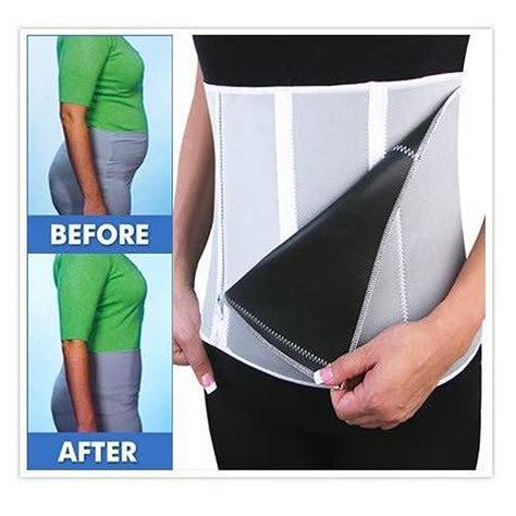 New Arrival Adjustable Slimming Belt In 5 Steps aliexpress buy slimming belt adjustable 5 zippers sauna unisex waist shaper girdle