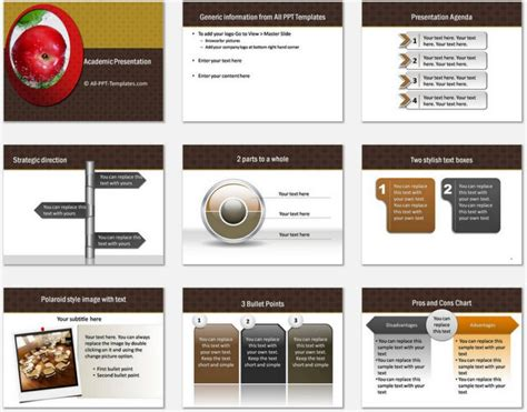 Academic Presentation Template Academic Presentation Powerpoint Template