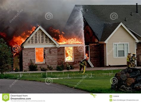 royalty house house fire 4 royalty free stock photos image 1508608