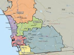 Map San Diego County by San Diego Real Estate And Market Trends