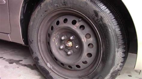 replace broken lug nut studs wheel bolt repair toyota corolla fix youtube