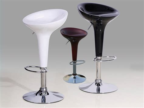 bar stool for kitchen high gloss kitchen bar stools in black white red