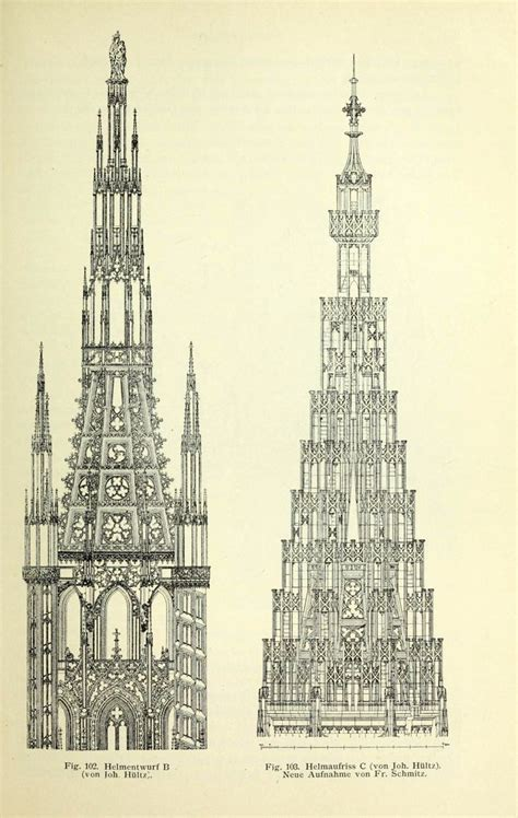 pin by matthieu mielvaque on architectural drawing pinterest spire designs for the cathedral strasbourg