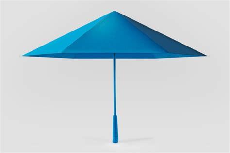 umbrella design maker geometric umbrella reimagines traditional structure s