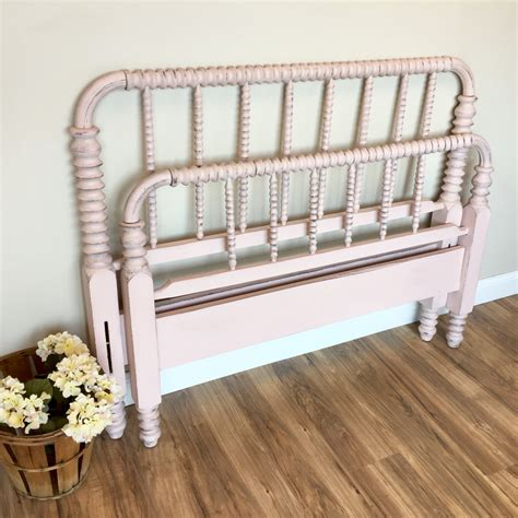 spindle bed frame lind bed three quarter bed pink bed frame