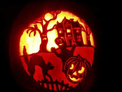 haunted house pattern for pumpkin carving haunted house pattern 171 design patterns