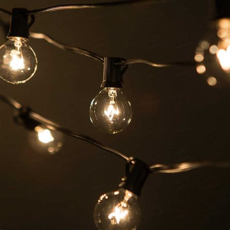 Outdoor Light Bulb String 10 Benefits Of Big Bulb Outdoor String Lights Warisan Lighting