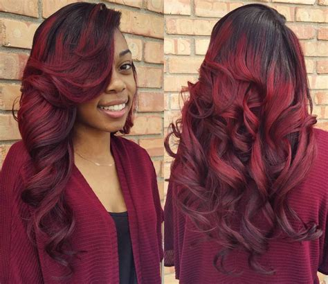 Sew In Hairstyles by 12 Sew In Hairstyles That Will Make You Look Completely